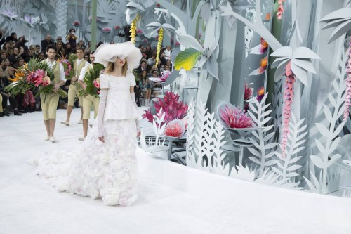 Défilé Chanel Jardin extraordinaire
