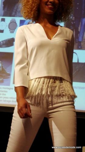 Blanc couture pour soirée chic Tendances Hiver 15-16