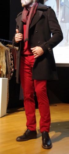 Pantalon bordeaux tendance Hiver 15-16