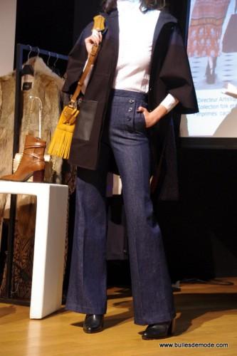 Pantalon large jean Hiver 15-16