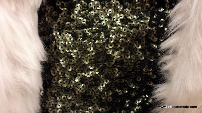 Jupe sequins Galeries Lafayette Lyon Bron