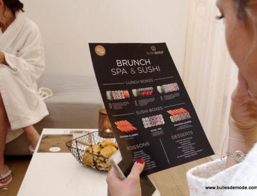 Idée Cadeau Duo : le brunch spa + sushi d'Azium et Sushi Shop