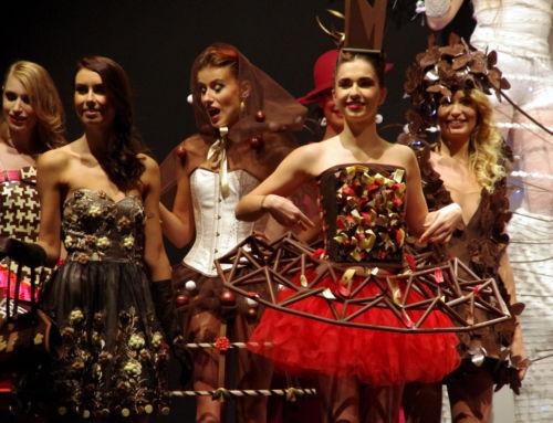 Défilés de robes au 5ème Salon du Chocolat de Lyon 2015