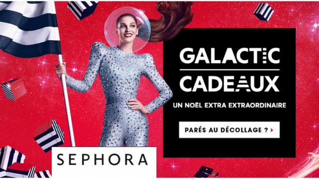 Galactic Cadeaux Sephora Noël 2015