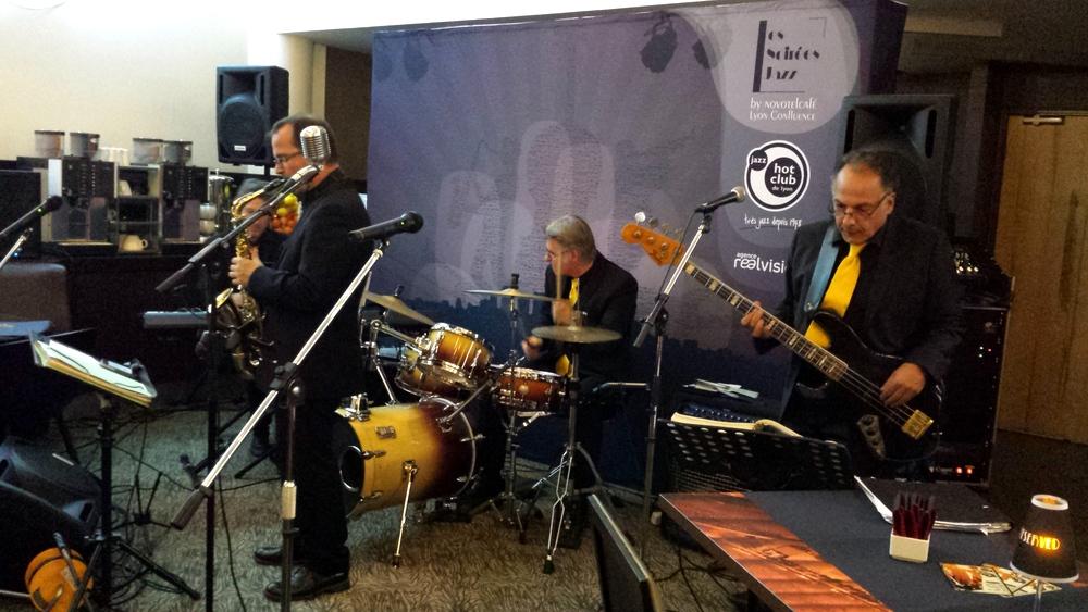 The Crooners pour la soirée Jazz Novotel Confluence
