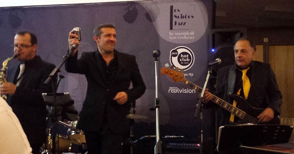 The Crooners à Novotel Confluence Soirée JazzThe Crooners à Novotel Confluence Soirée Jazz