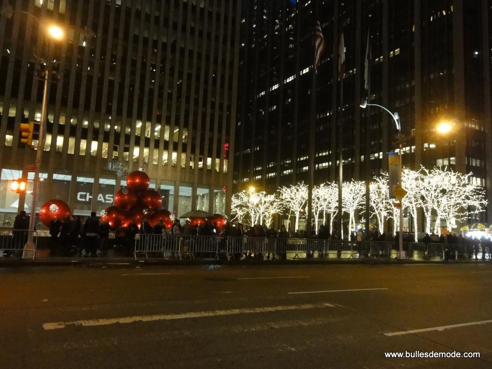 Visiter New-York à Noël - Rockfeller déco