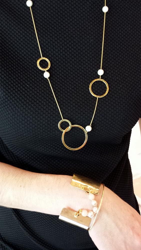 Bijoux contemporains perles Misaki