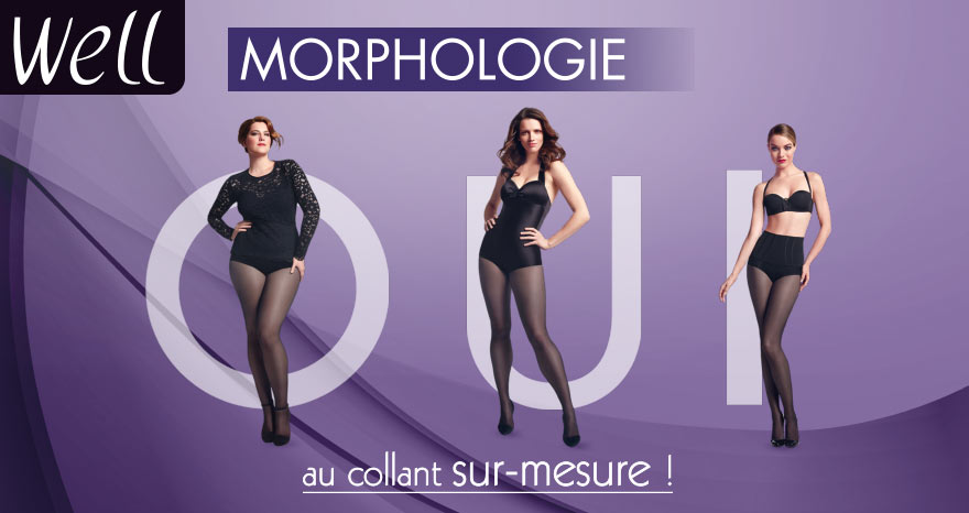 Well Collant morphologique tailles