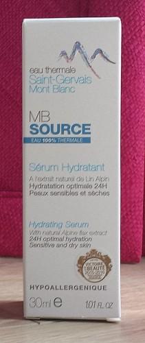 Sérum Hydratant Saint-Gervais Mont-Blanc