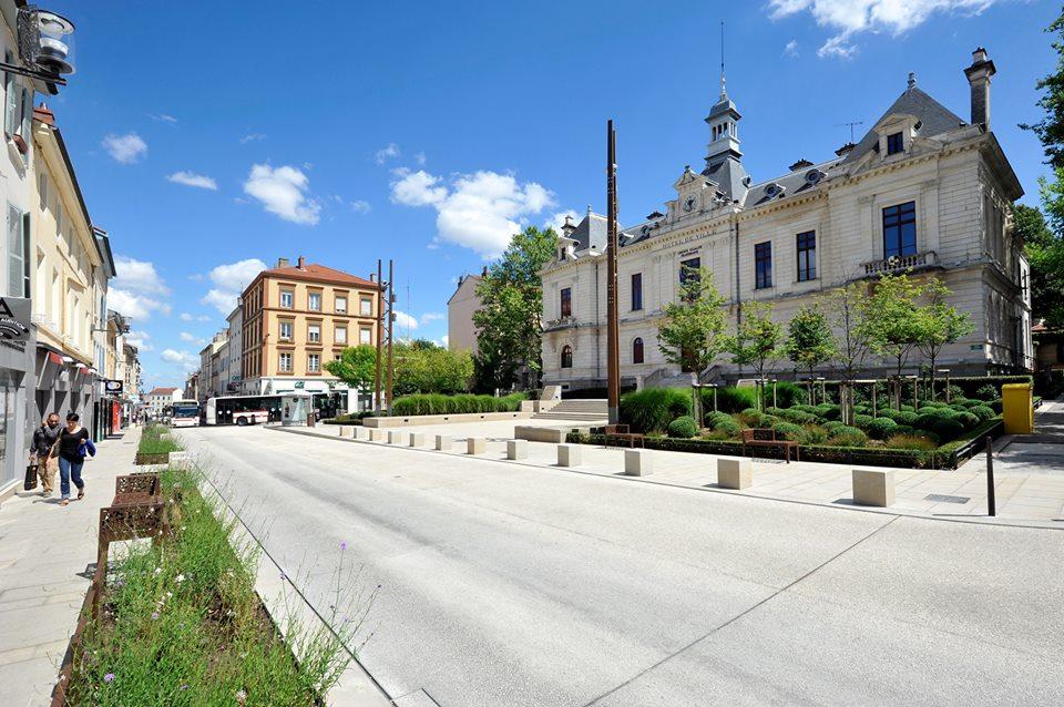 Oullins centre ville