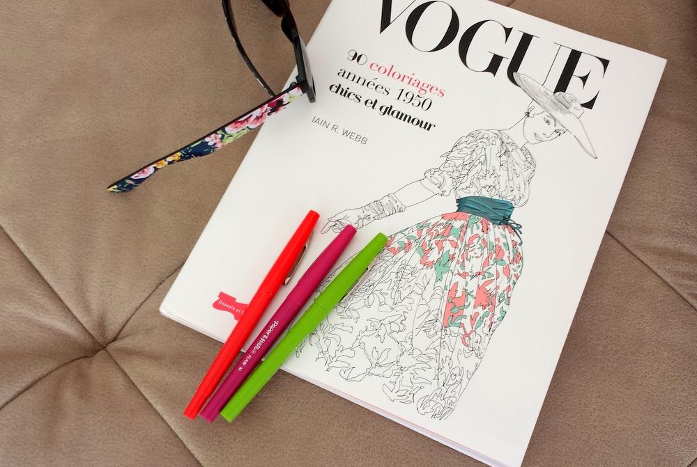 Vogue album riages Iain Webb