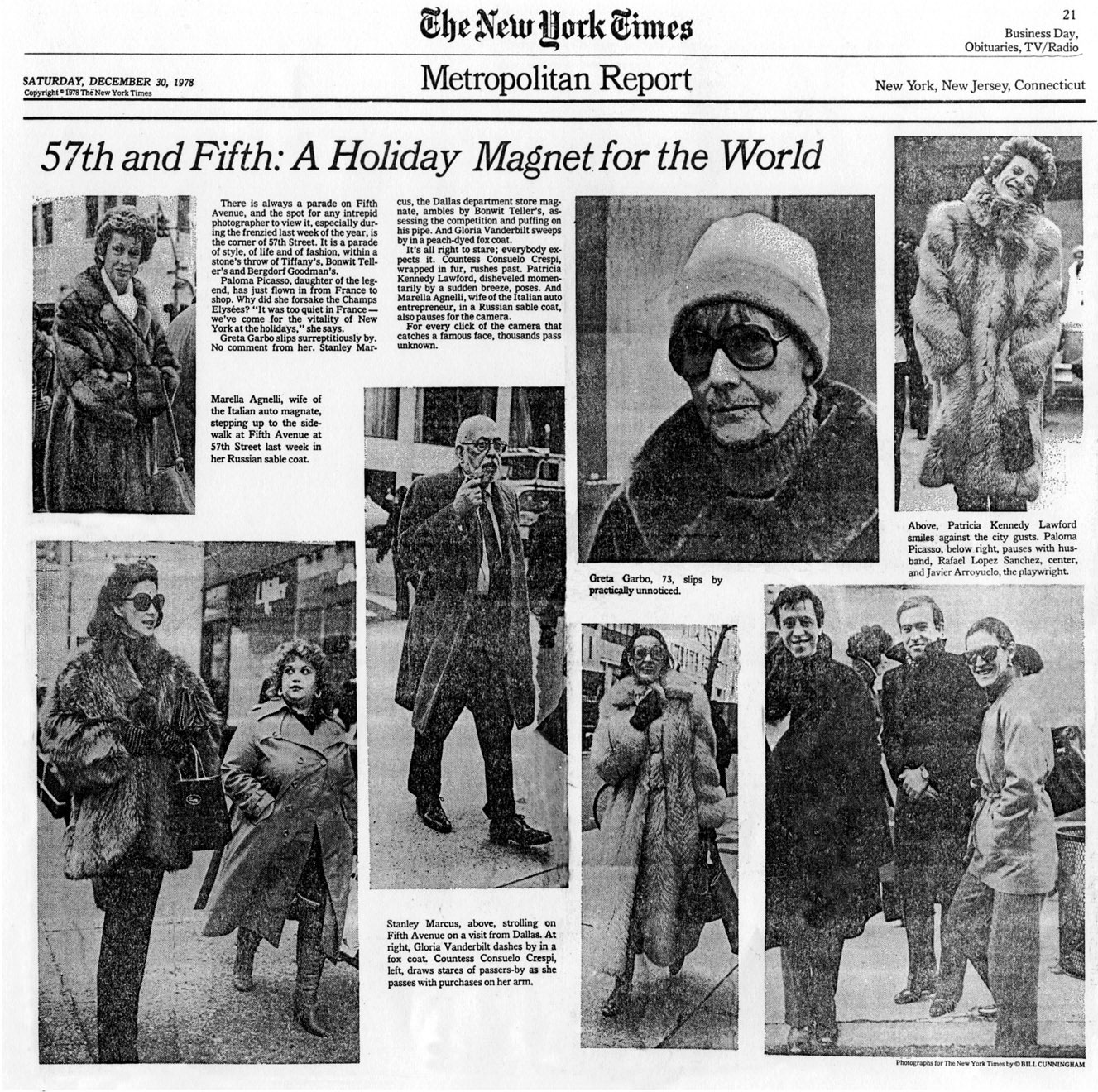 Bill Cunningham 1978 New York Times