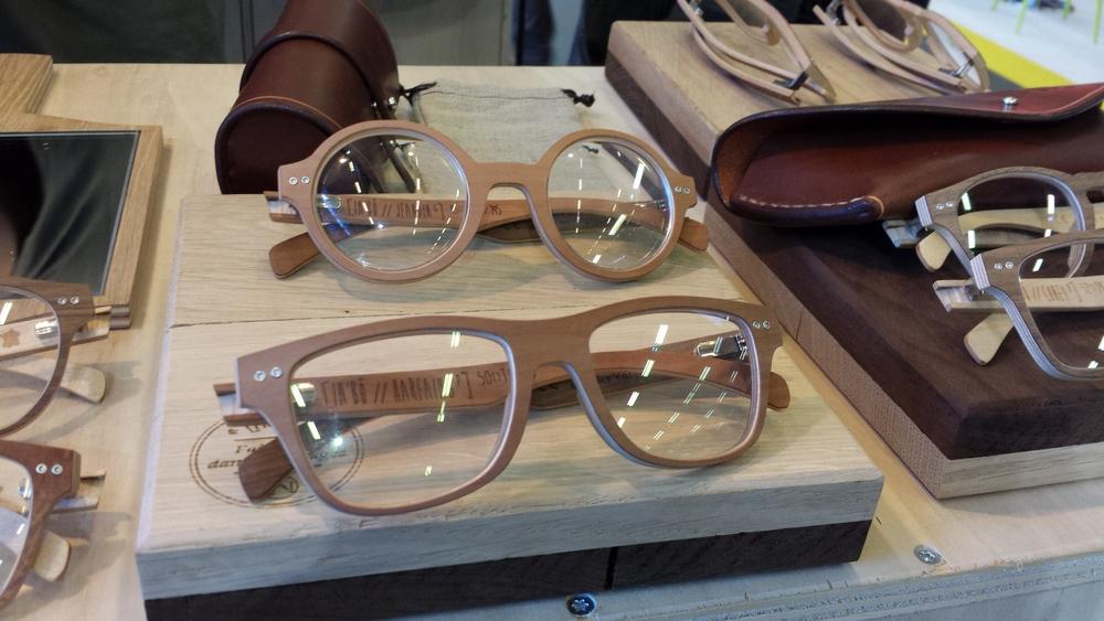 Original, made in France et ethique, la lunette en bois INB u00d4 [Découverte] Bulles de mode # Lunettes En Bois Vosges