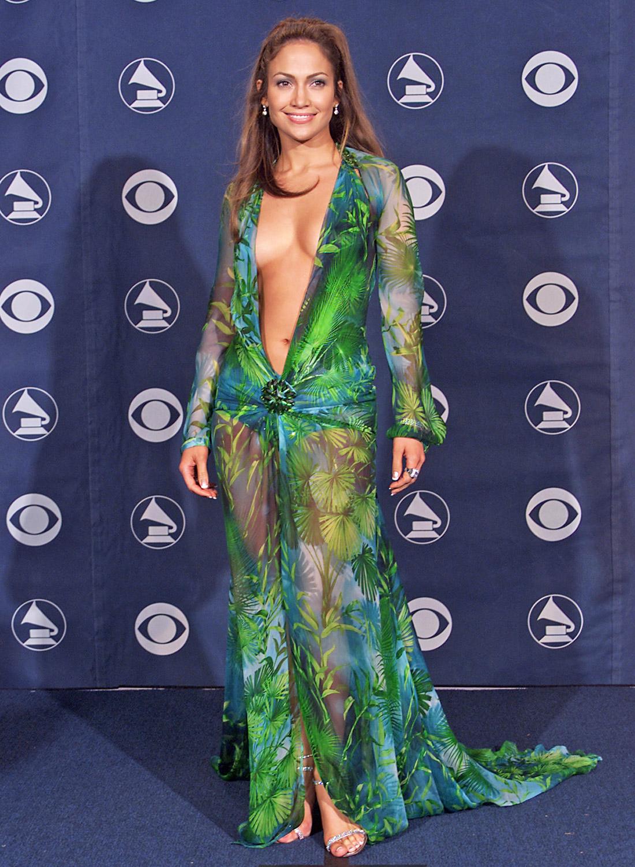 Jennifer Lopez Versace