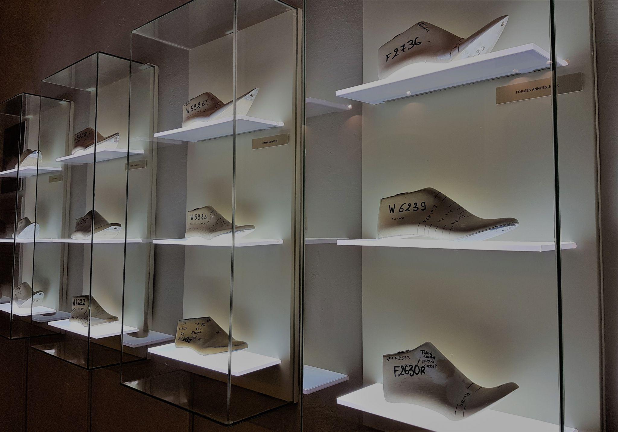 Musée Chaussure Romans luxe