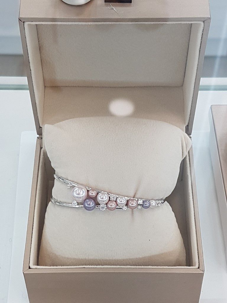 Bracelet Perles Argent Elsa Lee