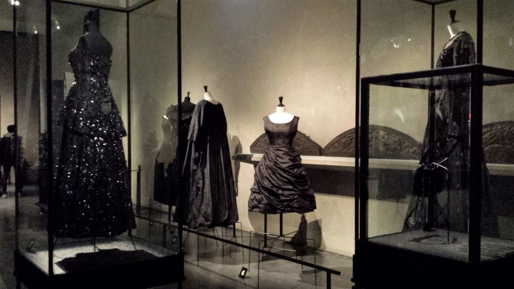 Expo Balenciaga Bourdelle Galliera Paris oeuvre au noir (29)