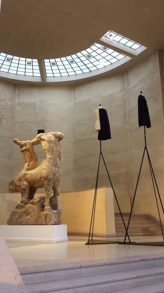 Grand Hall Bourdelle Expo Balenciaga