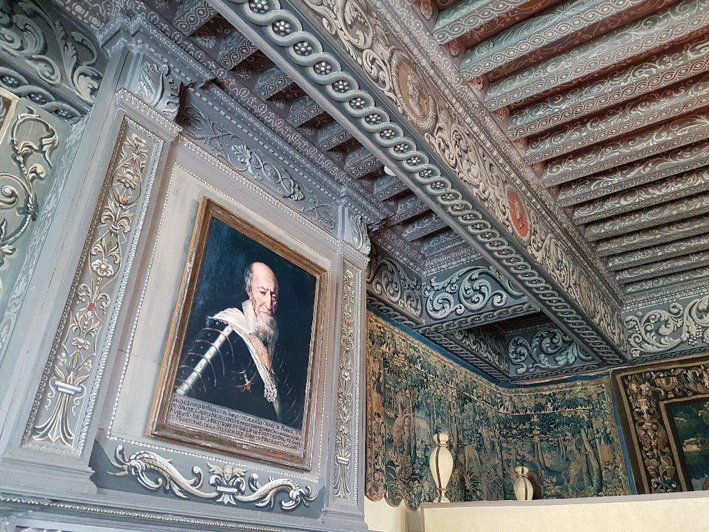 Peintures Plafond Renaissance Urfé