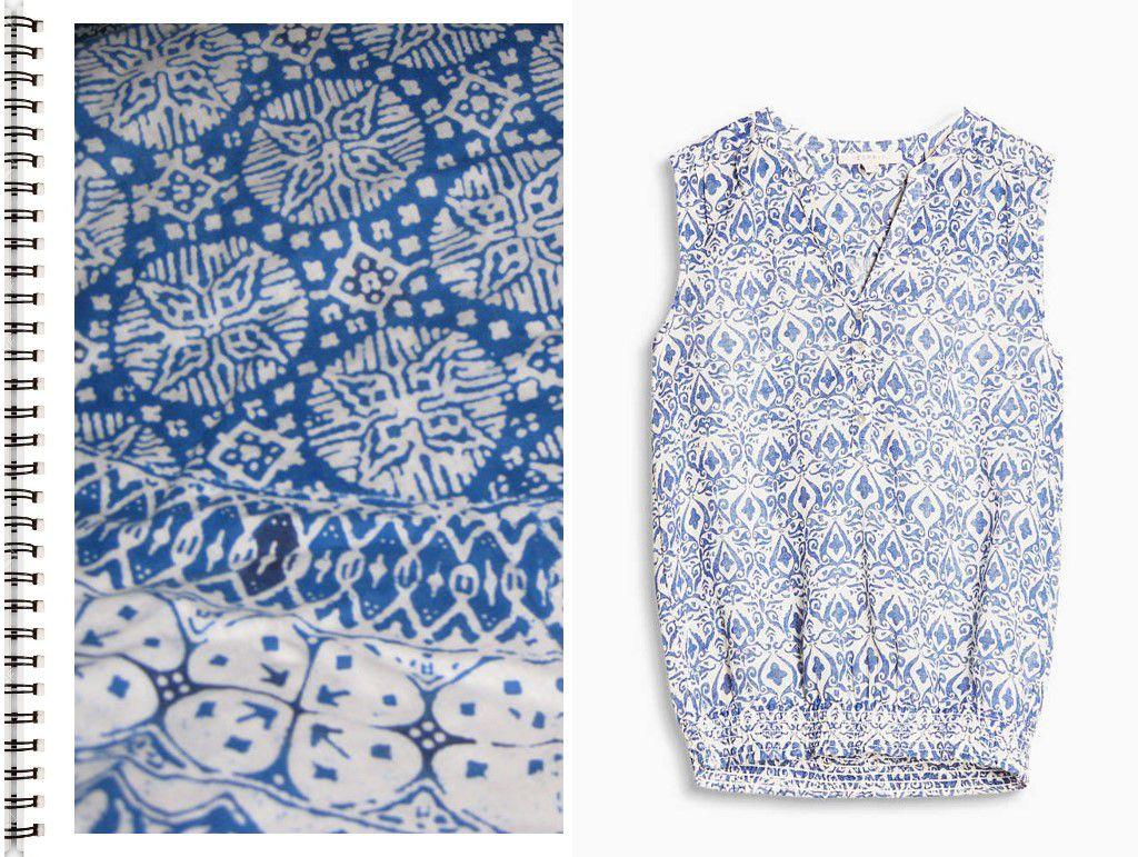 Inspiration Batik Mode été 2017 Esprit