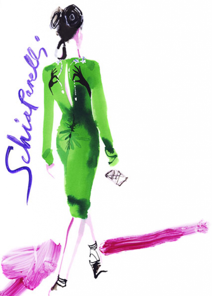 Schiaparelli David Downton 2105