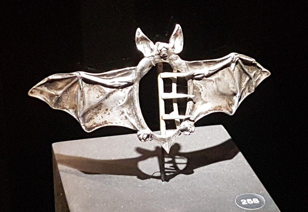 Boucle de ceinture Art Nouveau Chauve-souris