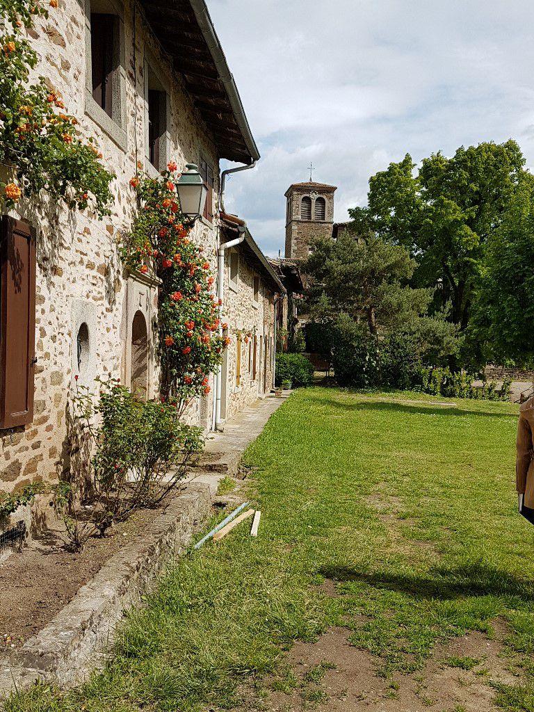 Cour intérieure du monastère