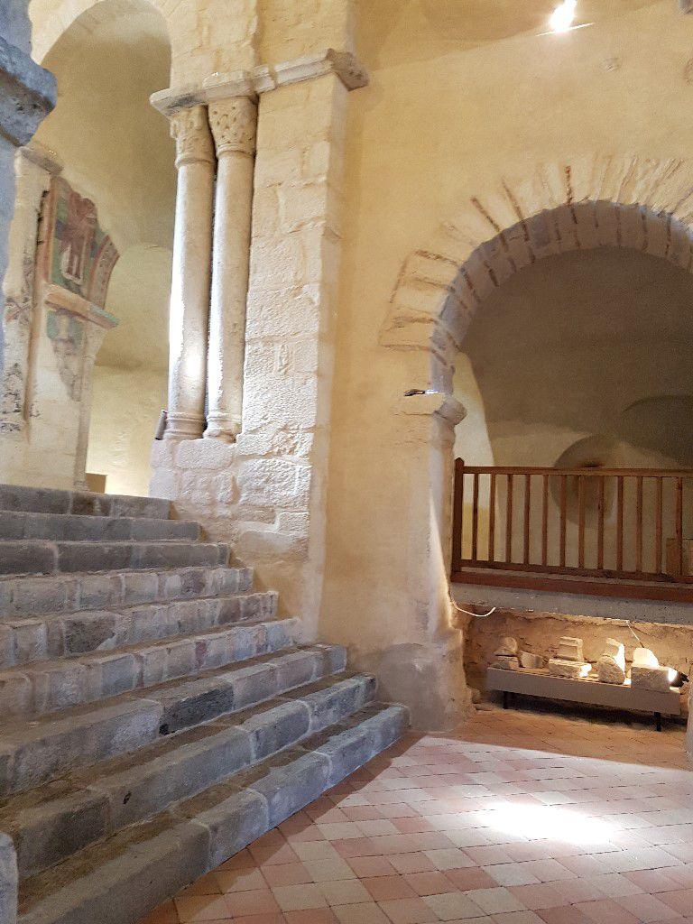 Escalier du transept