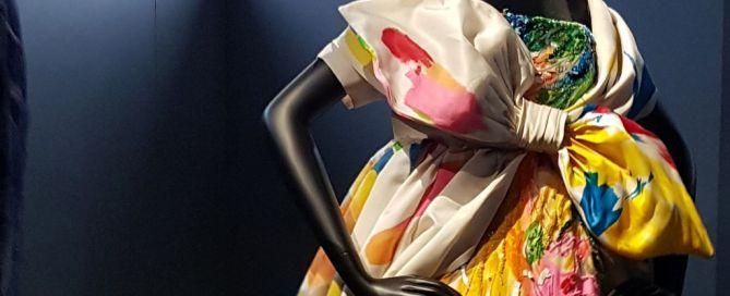 Robe Gianfranco Ferré Dior Expo Arts Deco Paris 70 ans