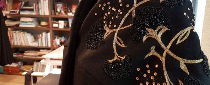 Broderie Haute-Couture Elisabeth Gasbarre Lyon
