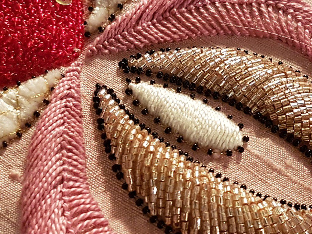 Broderie Perles Rocaille