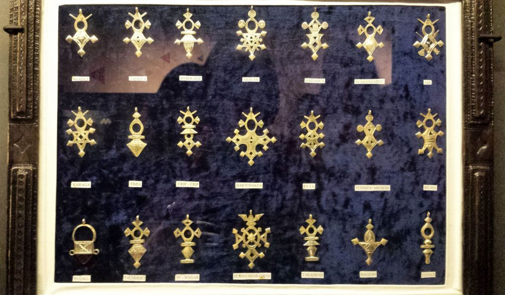 Croix Agadez Bijou Touareg Musée Confluences