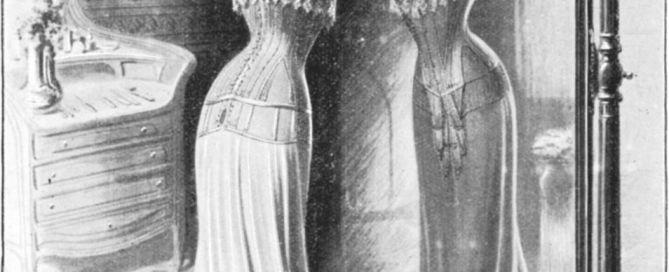 Femme morphologie corset 1900