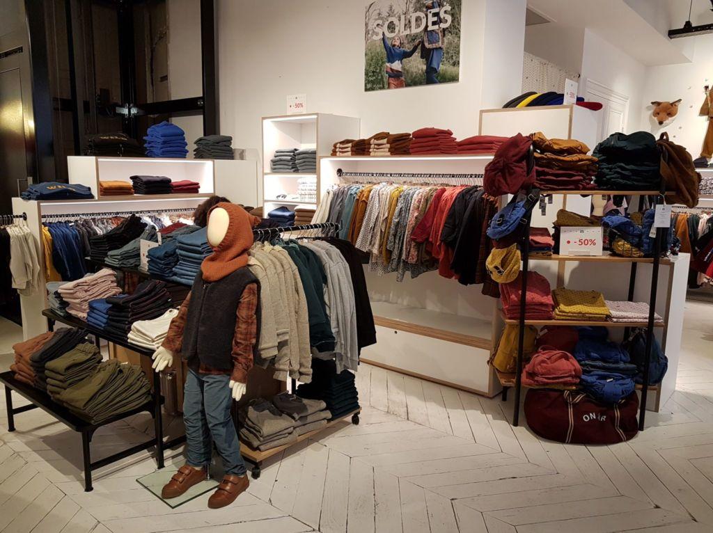 Collection vêtements enfants Bonton Lyon