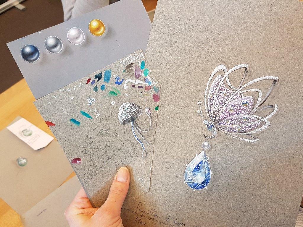 Dessin bijoux Boulle Paris