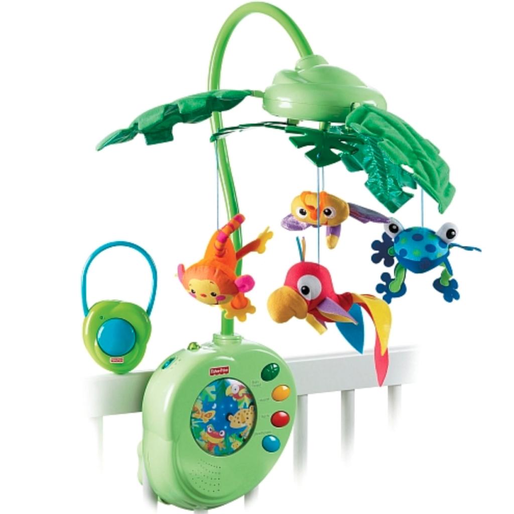 Mobile Musical Fisher Price Jungle