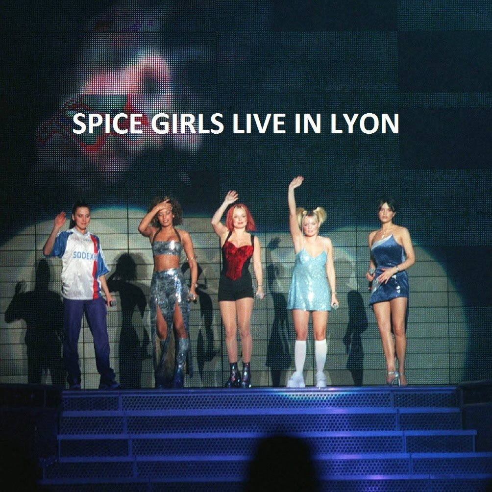 19 mars 1998 Spice Girls Lyon