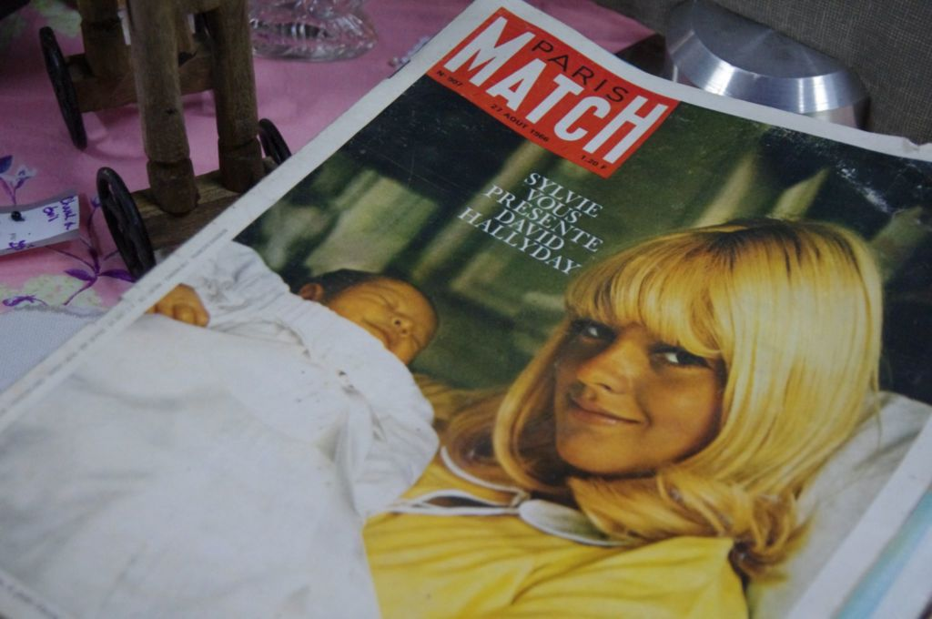 Paris Match Vintage Sylvie Vartan David Hallyday