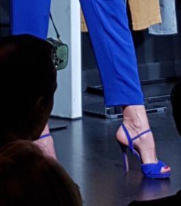 Sandales talon aiguille bleu roi été 2018