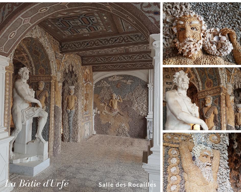 Bâtie d'Urfé Salle des Rocailles Renaissance Loire
