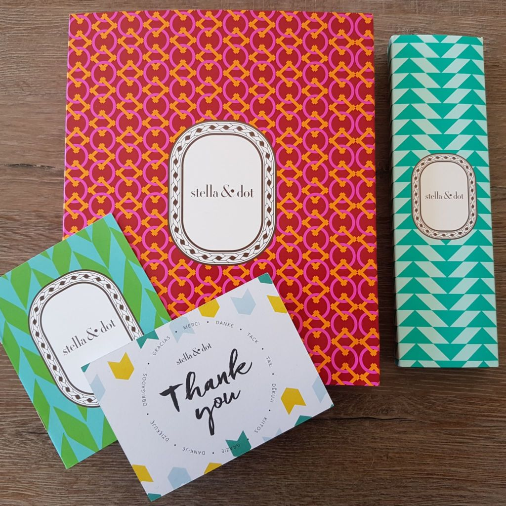 Packaging Bijoux Stella and Dot