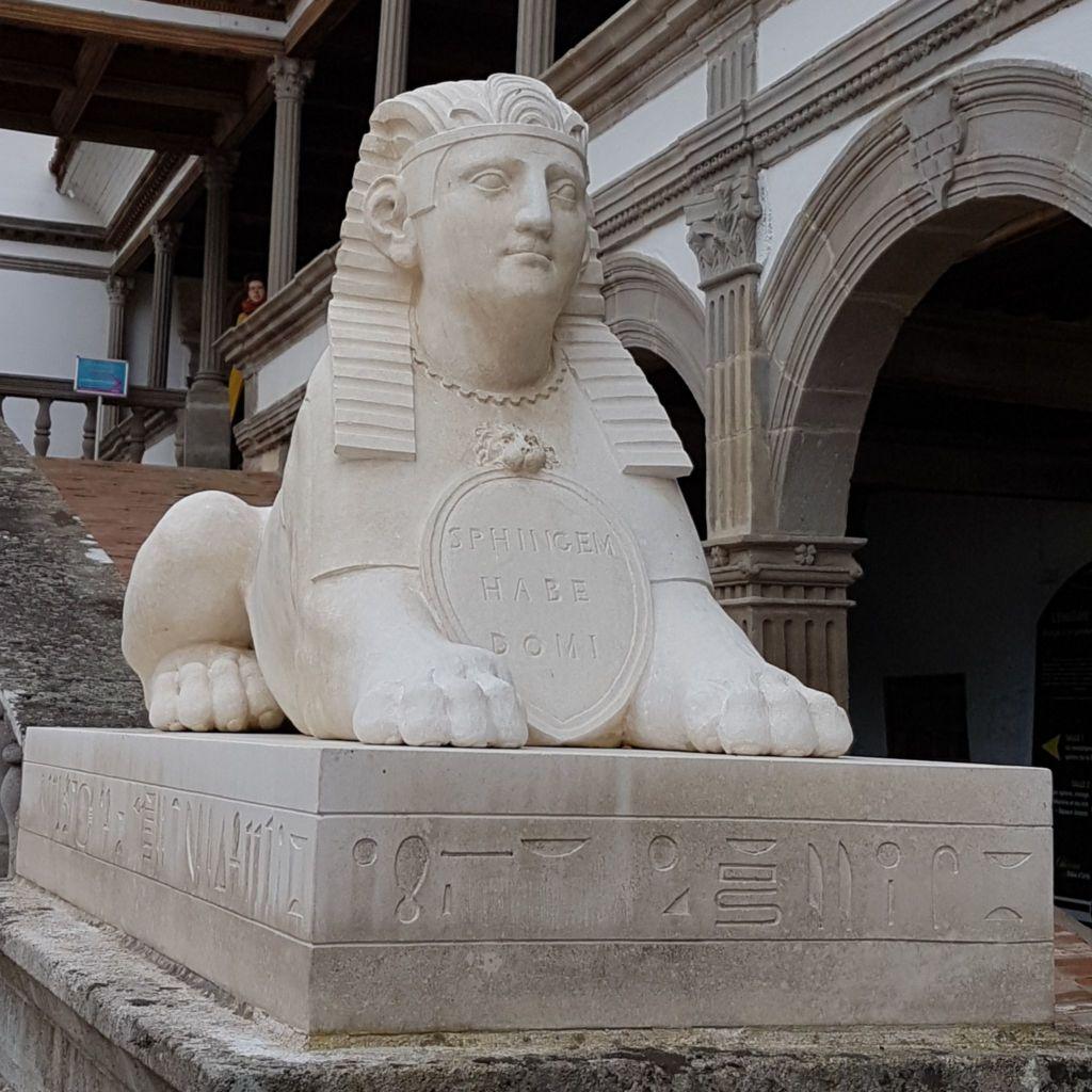 Sphinx Renaissance Bâtie Urfé Loire