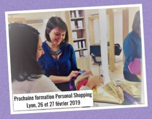 Formation Personal Shopping Février 2019