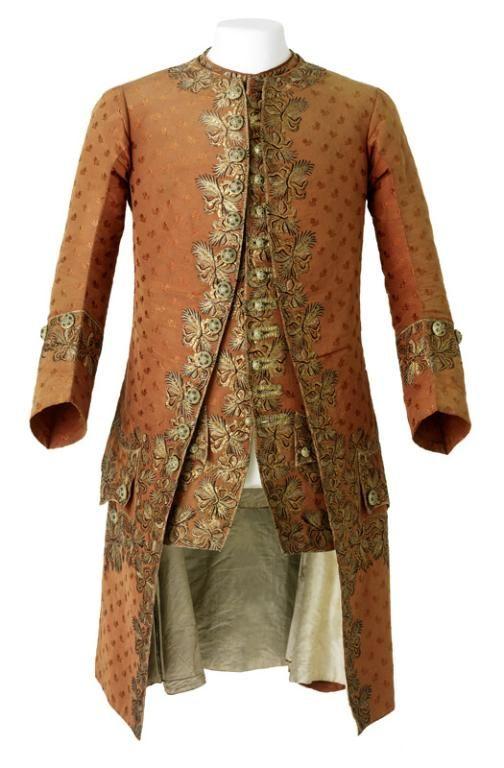 Habit de cour veste et gilet 1760 - MTMAD Lyon