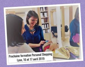 Formation Personal Shopping Lyon Avril 2019