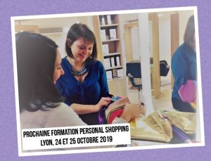 Formation Personal Shopping Lyon 24 et 25 octobre 2019