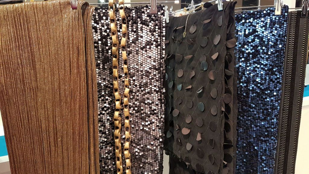 Textures tendances bijoux night club