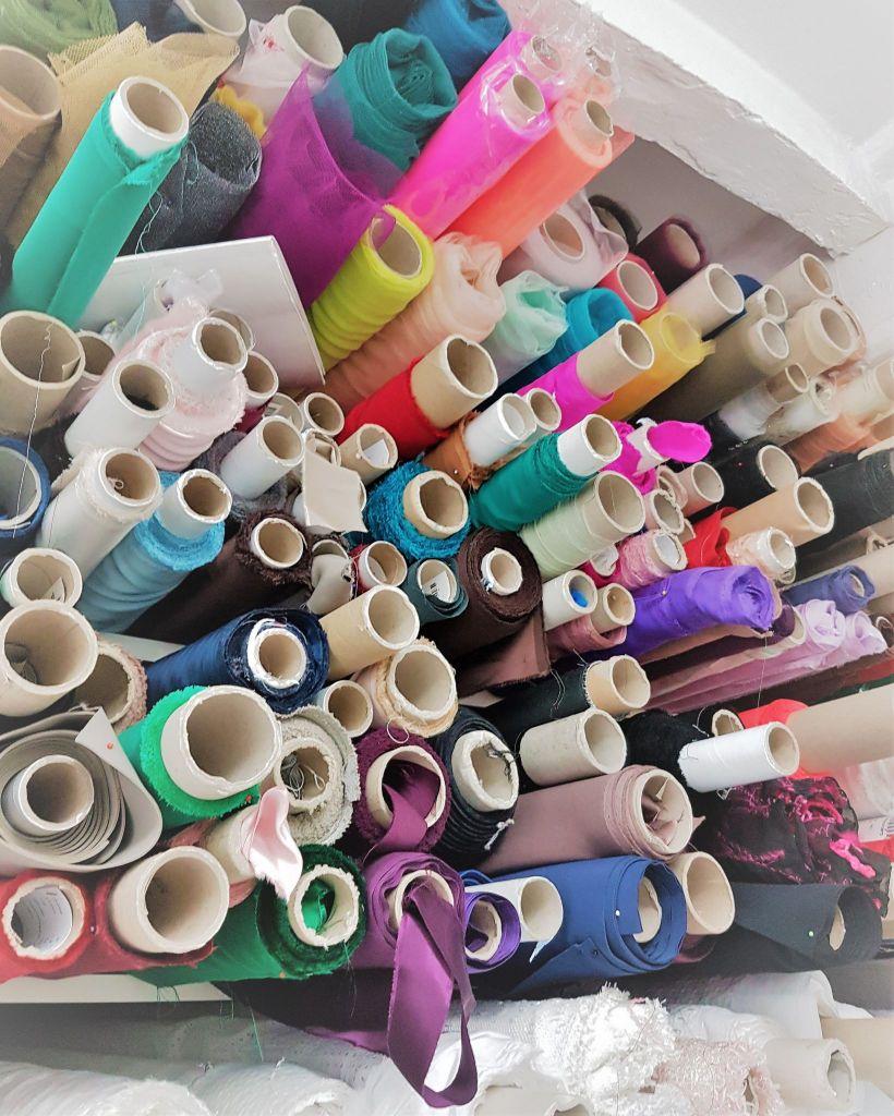 Tulles de couleur Nicolas Fafiotte Couture Lyon