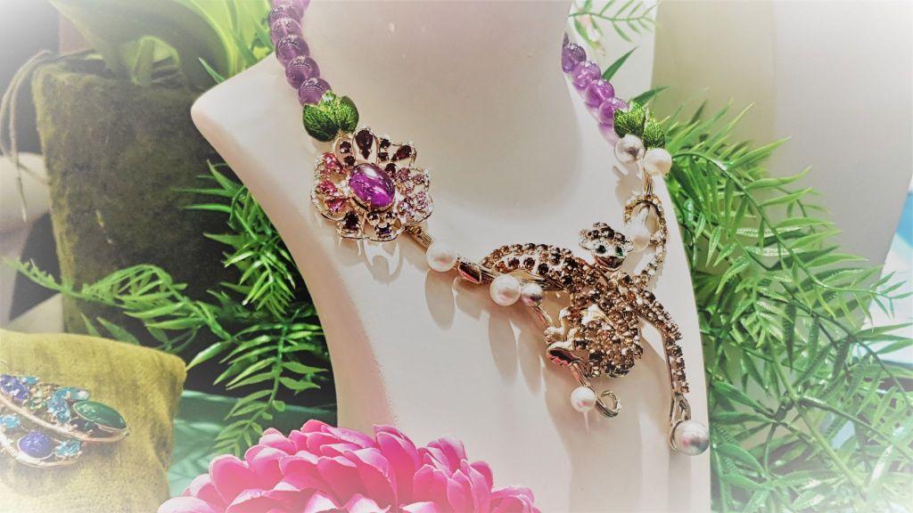 elegant flower tendance bijoux